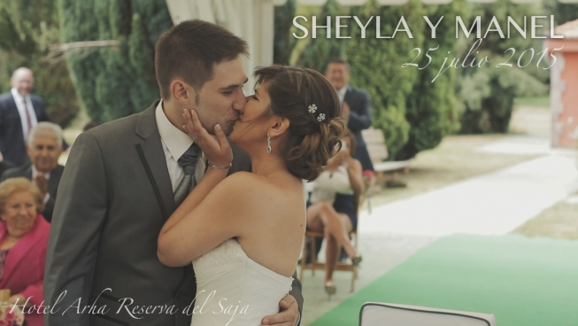 video de boda en la reserva del Saja