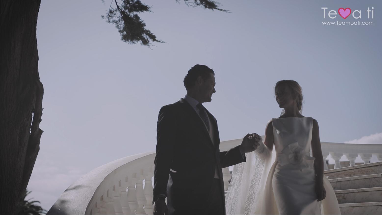 video de boda elegante en Santander