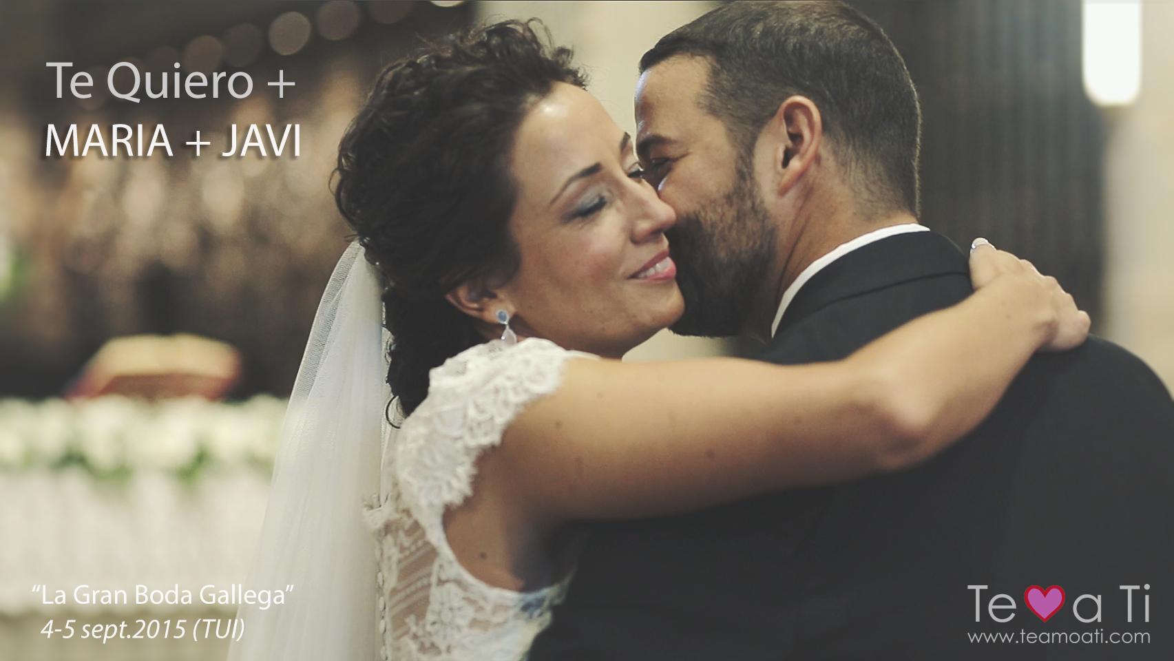 video de boda en Tuy